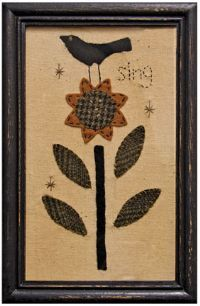 Stitched Samplers - Appleseed Primitives-Primitive and Rustic Country Home Decor.