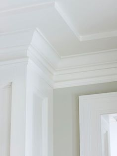 Accentuate Crown Molding - dining room