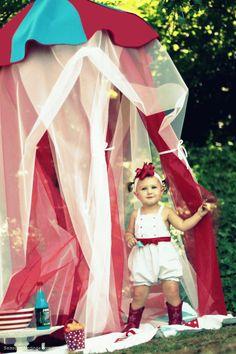 Circus Tent Tutorial