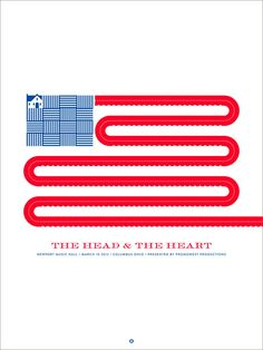The Head and the Heart #graphicdesign