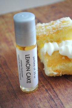 Lemon Cake Perfume Oil - Roll On Perfume Bakery Cookie Scent