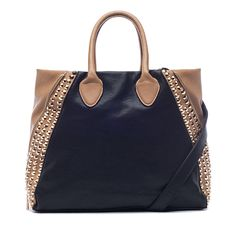 I love the Pink Cosmo Studded Color Block Tote from LittleBlackBag *Get your 25% off here -> http://lbb.ag/b32a