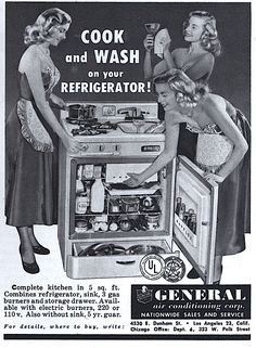 cook AND wash ON your refrigerator