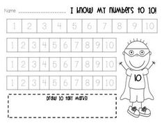 Zero the Hero Classroom Counting FUN!  This packet includes:  Zero the Hero counting to 100 by tens, big and small; calendar numbers; printables for each number; printable class books; homework sheets; and much more!  $