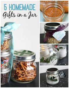 5 Fun and Easy Homemade Gifts in a Jar