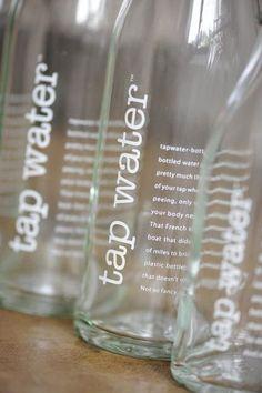 Tap Water Bottle : Wantist