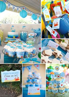 Under the Sea birthday party printables collection from Chickabug!