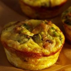Mini Mushroom & Sausage quiches  WW 2PPTS