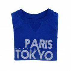 Paris-Tokyo sweatshirt @ BONTON