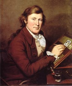 Charles Willson Peale    Portrait of the Artist's Brother, James Peale (1795)