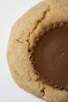 peanut butter peanut butter cup cookies