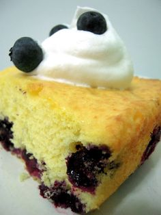 Diet 7-up Blueberry Cake