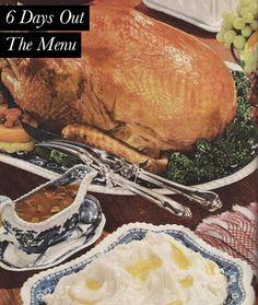 Mastering the #Thanksgiving menu.
