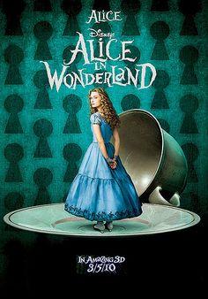 *ALICE in WONDERLAND ~ by: Tim Burton, 2010