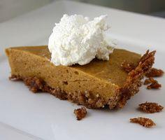 Grain and Dairy Free Pumpkin Pie pumpkin recipes, paleo pumpkin, pie crusts, food, pie recipes, pumpkin pies, dessert