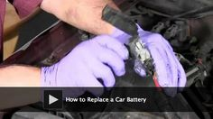 DIY Video: How to Replace a Car Battery.