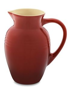 Le Creuset Stoneware Pitcher in Red