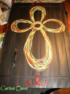 Learn to paint a whimsical cross.