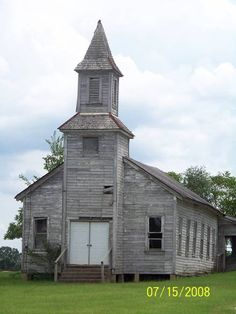 Old church collapsing