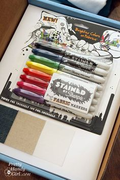 Sharpie Markers for Fabric
