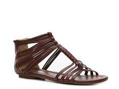 michael antonio, summer sandals, dryden sandal, style, antonio dryden, woman shoes, flat sandals, flats, brown sandal