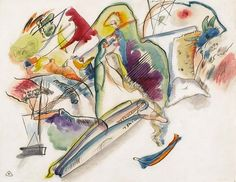 "Kandinsky from MoMA's ""Inventing Abstraction"" exhibit"