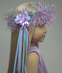 Doll Clothes Patterns: Make a Headband for Your Doll | Doll Clothes Patterns