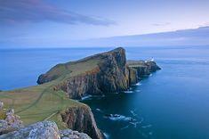 Neist Point, Isle of Skye - Scotland scotland, wonderful world, skye, isl, neist point, lighthous, travel, place, bucket lists