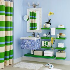 baths, floating shelves, rug, rope, bathrooms, laundry rooms, bathroom remodeling, sink, shower curtains