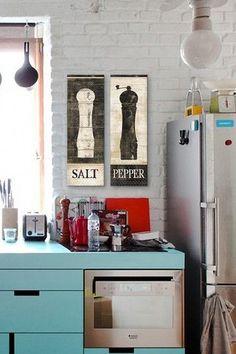 Salt & Pepper wall art