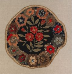19th century table rug