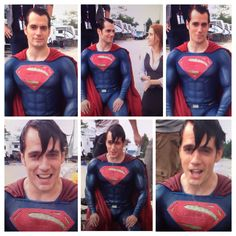 JUST IN: #Superman got SOAKED & Lois Lane too! https://vimeo.com/104408762 @ZackSnyder, you guys are awesome #HenryCavill #manofsteel #batmanvsuperman