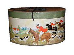 vintage D'Audre hat box pre 1920