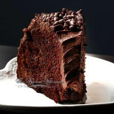 Sour Cream Chocolate Bundt Cake - The Kitchen Whisperer