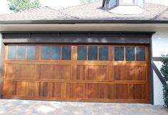 Arts & Crafts Garage Door
