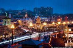 Kansas City Plaza Lights at Christmas #kansascity #christmas