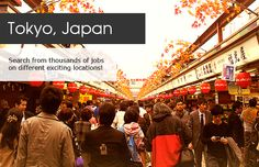 TRAVELLING JOBS - Japan #Travel #Jobs #Career #Japan
