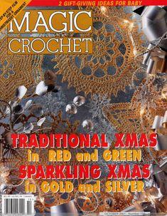Magic Crochet 134 crochet book, pattern, crochet christmas, christmas ornaments, christma ornament