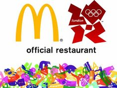 Mcdonalds - www.olympics.org #london2012 #mcdonalds