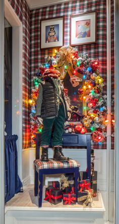 Get in the holiday spirit with The Nutcracker-themed windows at our Madison Avenue Boys and Girls store