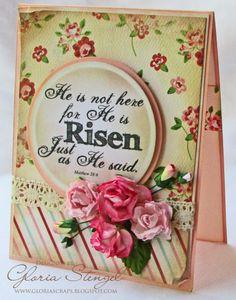 Scraps of Life - Gloria Stengel Designs Easter digi stamp