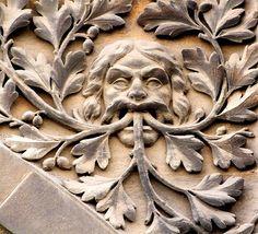 Pembroke Street Green Man, photo by Tina Negus