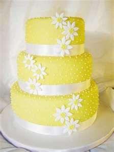 yellow weddings, blue, easter cake, daisi, wedding cakes, yellow cakes, cupcake cakes, silver weddings, lemon yellow
