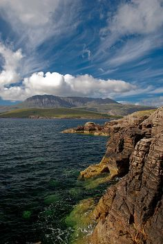 Rhue Peninsula, just to the north of Ullapool, Scotland