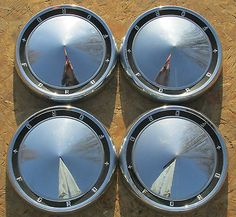 1960 Ford Dog Dish Hubcaps
