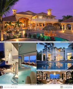 It's these kind of homes that you could have you r entire family (including relatives) live in it with you, and you would never have to see each other once. XD