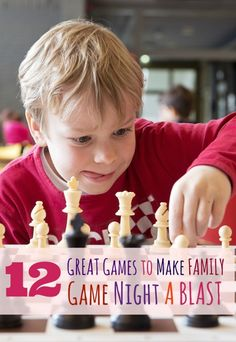 We love, love, love family game night at our house. Here are 12 Games Perfect for Family Game Night, some of our favorites are in there.