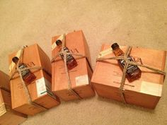 Perfect packaging for your groomsman gifts