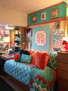 Cutest dorm ever. Monogram
