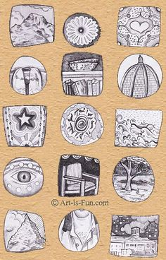 Sketchbook Assignment: An Easy Way to Keep a Daily Visual Diary
